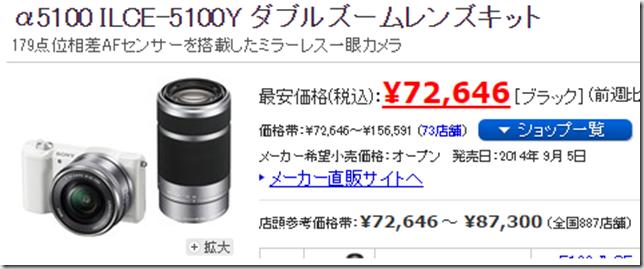 ヨドバシカメラ一眼レフ福袋2016年版の中身はこれ! α5100