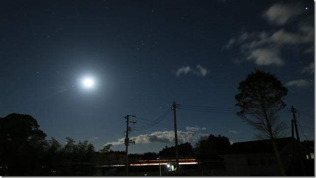 PowerShotG7Xの星空夜景写真