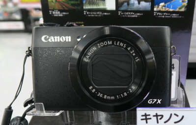 キャノンPowerShot G7X