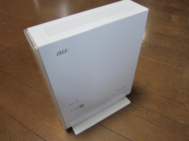 auひかりの無線LANの設定方法解説