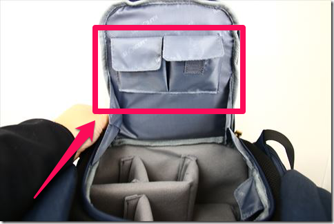 K&F Conceptのカメラバックの画像