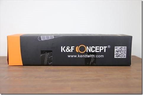 K&F Conceptの三脚レビューの画像