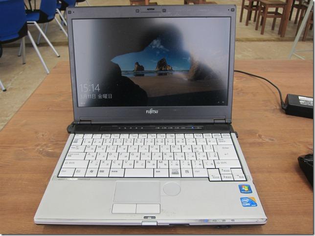 Windows 10の評価を検証したWindows 7パソコン