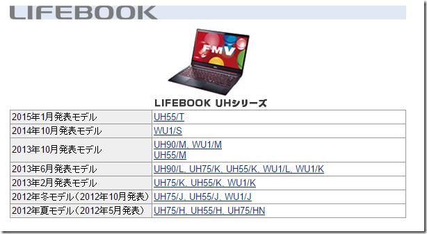 LIFEBOOK UH90/B3のレビュー画像