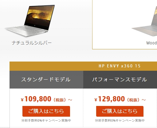 HPのパソコン福袋2019の画像
